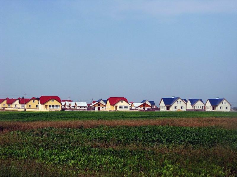 Строительство деревни