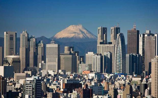 Токио - столица Японии.