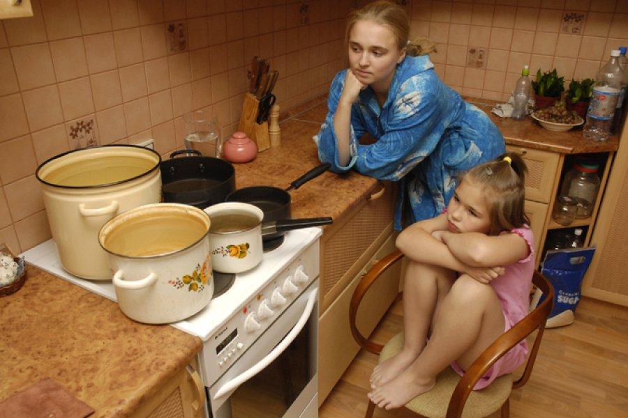 График отключения горячей воды в Минске в июне 2017 года.