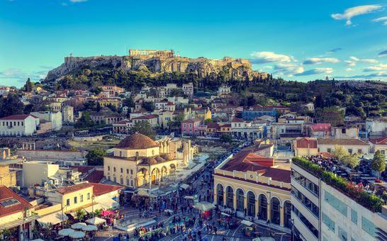 город Афины столица Греции