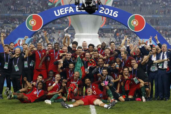 Португалия Чемпион Европы 2016
