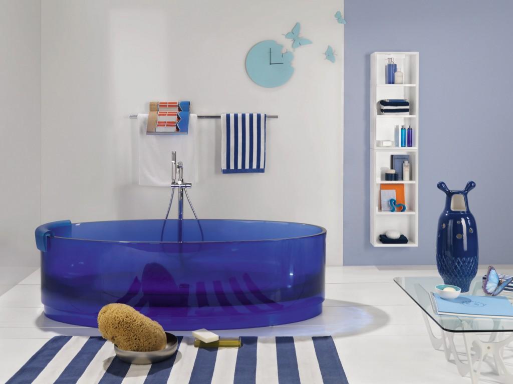 ванны из прозрачного акрила