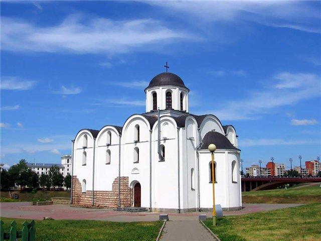 Благовещенскую церковь Витебск