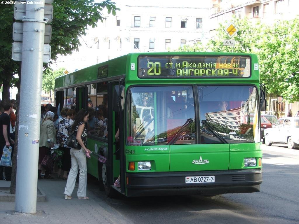 проезд в общественном транспорте беларуси