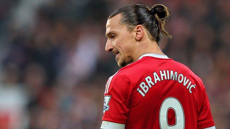 Златан Ибрагимович Манчестер Юнайтед
