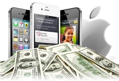 падение цен на Iphone