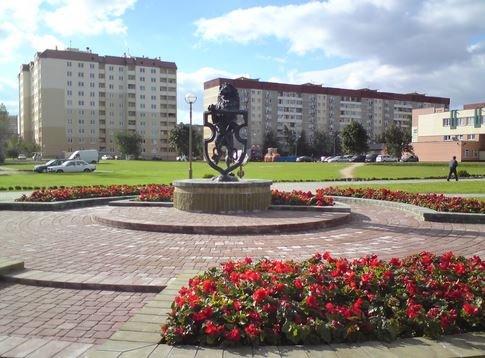 Город находится на западе Гродненской области