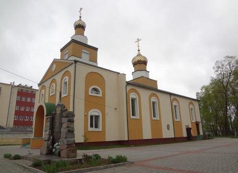 церковь Георгия Победоносца в Лиде