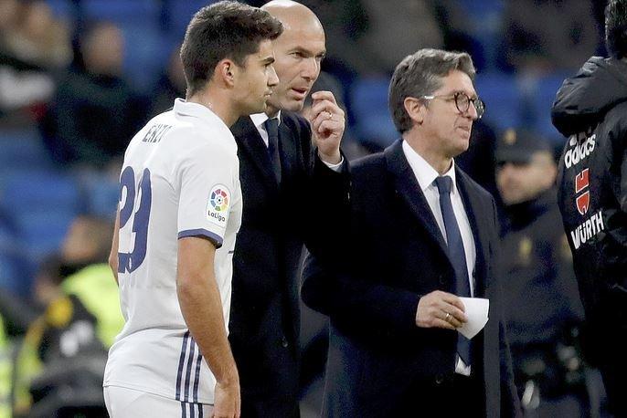 Энцо Зидан Зинедин Зидан Реал Мадрид