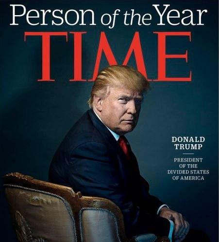 Дональд трамп стал человеком года Time