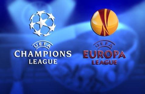 Опубликованы результаты жеребьевки плей-офф Лиги Чемпионов и Лиги Европы.