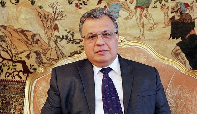 В Анкаре убит посол России в Турции Андрей Карлов.