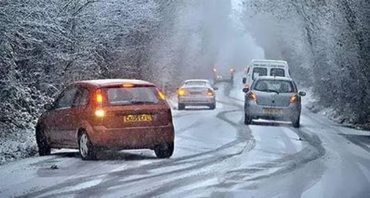 Использование зимних шин в странах Европы.