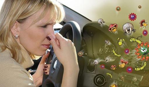 Как избавиться от неприятных запахов в авто?