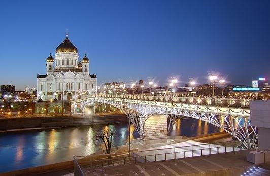 Патриарший мост Москва