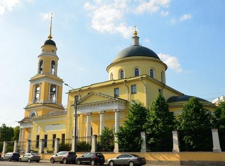 Храм Вознесения Господня в Москве.