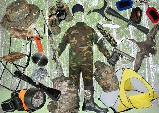 рыболовные аксессуары - сапоги, куртка, стульчик