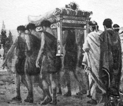 традиции похорон в греции