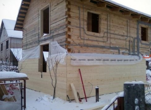 Утепление стен в доме из бруса: пенопласт, минеральная вата, пенополиуретан?