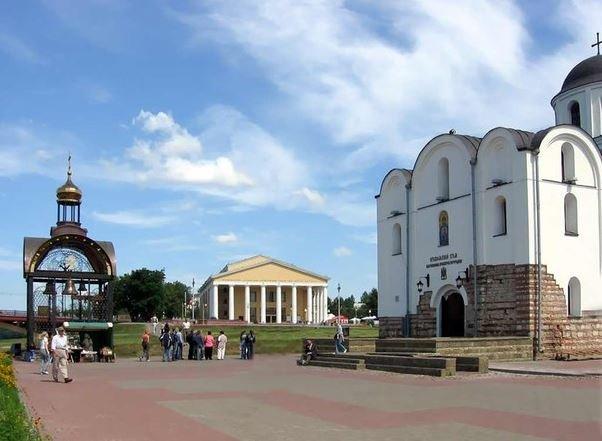 Витебск - прекрасный город в Беларуси.
