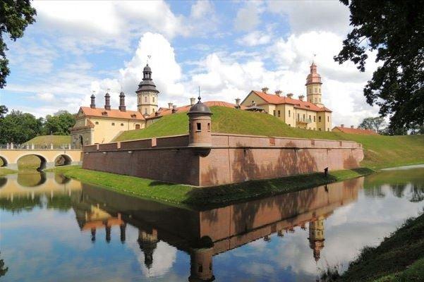Несвижский замок в Беларуси.