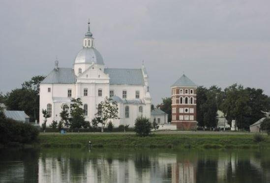 Несвиж - город в центре Беларуси.