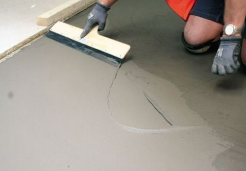 Цементная стяжка для пола своими руками
