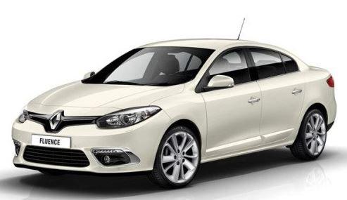 Обновленный седан Renault Fluence.
