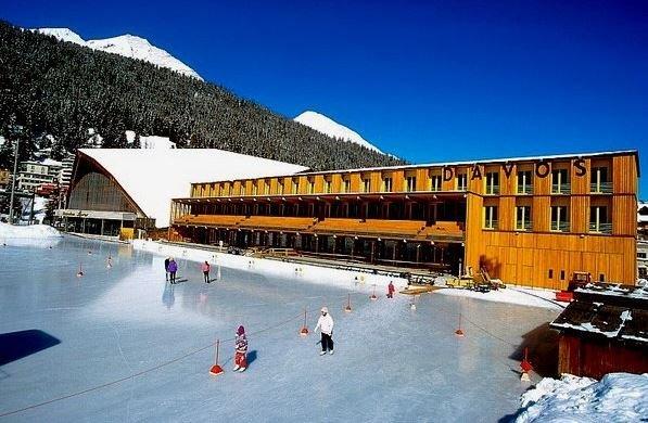 Отдыхаем на горнолыжном курорте Давос.