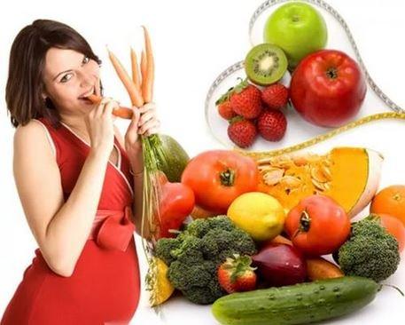 Правильное питание в период беременности.