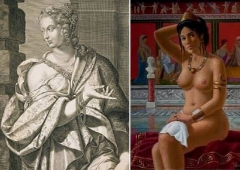 Неистовая Мессалина. История распутной римской любовницы.