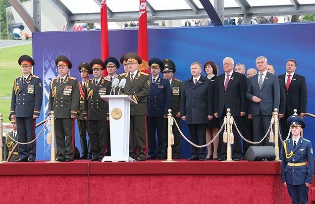 Парад в честь Дня Независимости прошел в Минске.