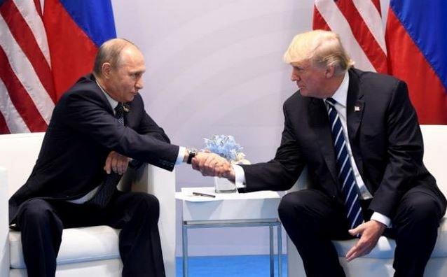 Путин и Трамп встретились на полях саммита G20 в Гамбурге.