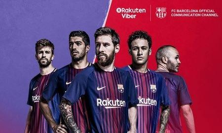 Viber - официальный мессенджер ФК «Барселона».