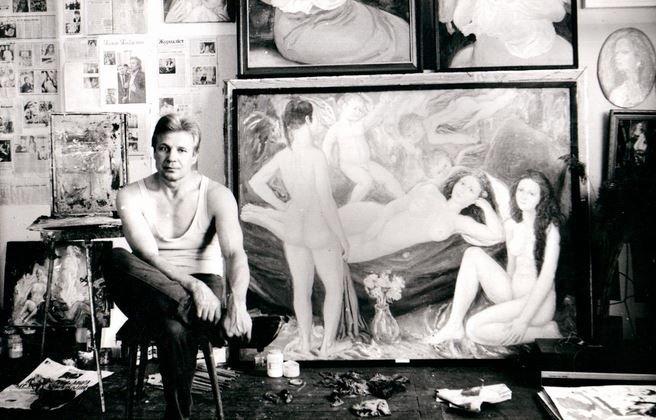 Мадонны белорусского художника Алексея Кузьмича покажут в Арт-центре Марка Ротко.