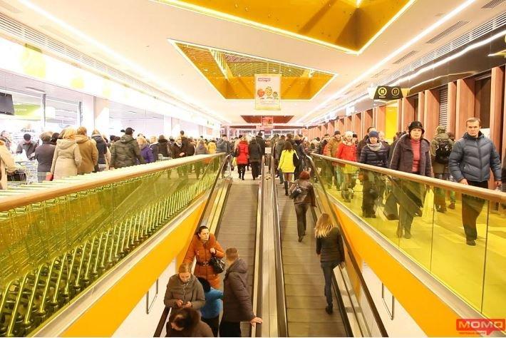 Торговый центр «МОМО» приглашает за покупками на Партизанском проспект 150А в Минске.