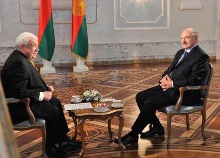 Александр Лукашенко дал интервью телеканалу Россия 24 август 2017