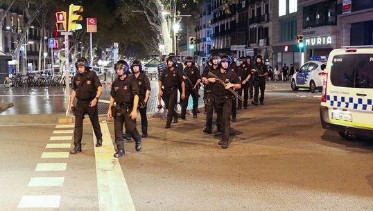 Серия терактов в Испании 18 августа 2017