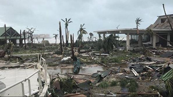 ураган «Ирма» обрушился на Карибы