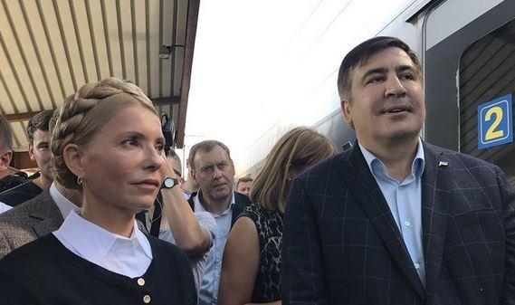 Саакашвили вернулся на Украину.