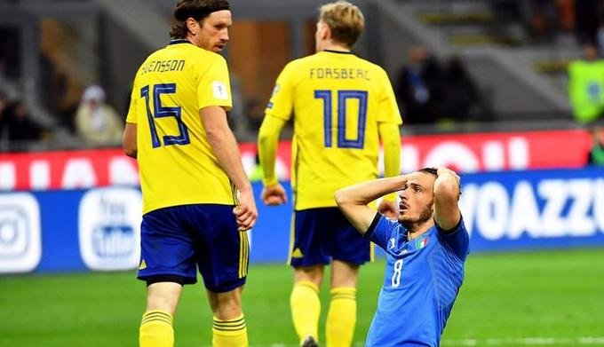 Италия не попала на Чемпионат Мира в России 2018