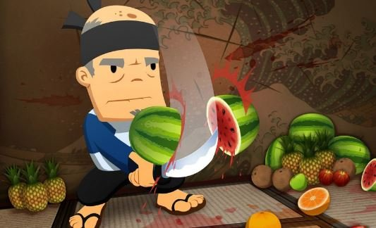 Android-версия игры Fruit Ninja
