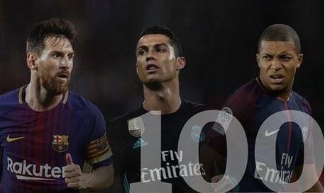 топ 100 футболистов 2017 The Guardian