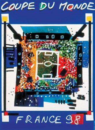 Как это было: официальные плакаты Чемпионатов мира по футболу разных годов