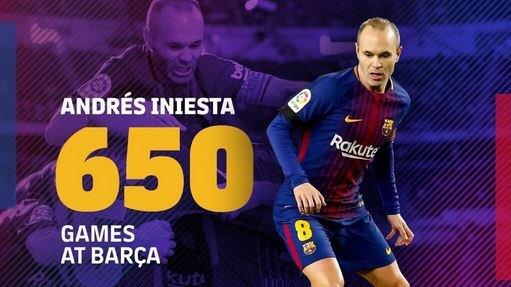 Андрес Иньеста Барселона