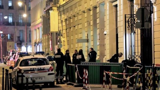 Дерзкое ограбление Париж Франции