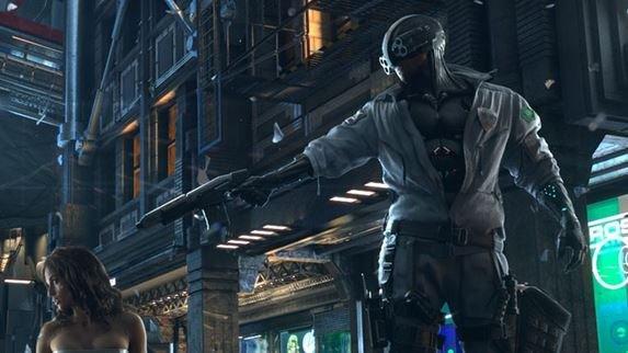 Cyberpunk 2077 игра