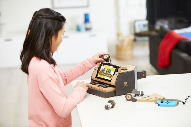 Nintendo Labo DIY наборы Nintendo Switch