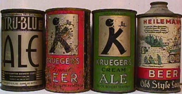 первое баночное пиво 1935 год