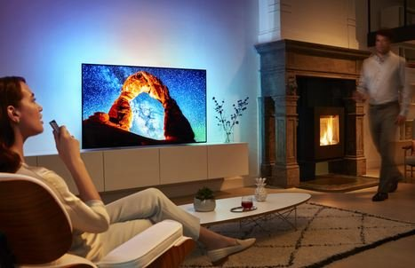 Philips LCS OLED телевизоры 2018
